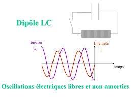 Série Oscillations électriques libres non amorties Circuit LC