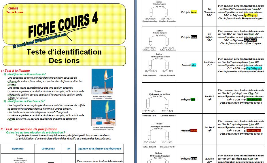 Cours Précipitation des électrolytes pdf