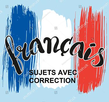 Résumé du cours et sujet de révision avec correction Français BAC scientifique pdf