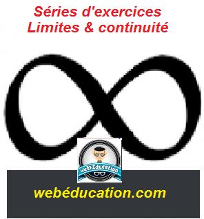 Séries d'exercices corrigés Limite et continuité pdf