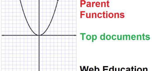 ParentFunctionspdf