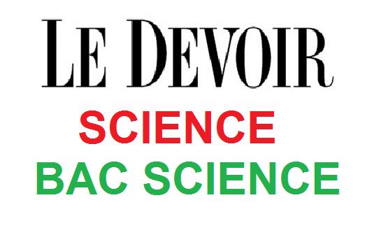 DEVOIRS DE RÉVISION SCIENCE SEMESTRE 1