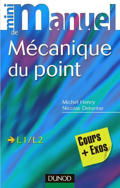 Le livre Mécanique du point