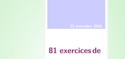81-exercices-de-mathematiques-corriges
