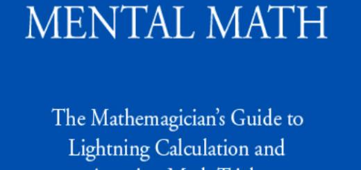 Book Secrets Of Mental Math pdf