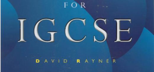 Book MATHEMATICS for IGCSE pdf