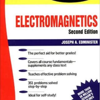 Book Schaum's Electromagnetics pdf