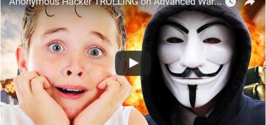Anonymous Hacker TROLLING on Advanced Warfare