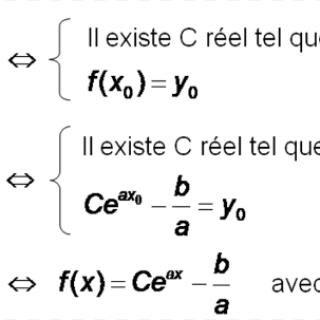 Cours équation différentielle pdf