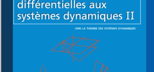 Livre Des équations différentielles aux systèmes dynamiques PDF