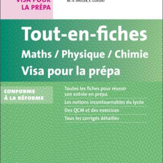 Livre Tout en fiches Maths Physique Chimie pdf