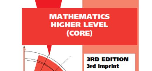 mathematics higher level core pdf