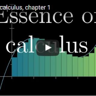 Essence of calculus