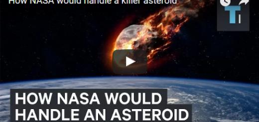 How NASA would handle a killer asteroid