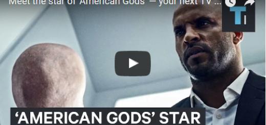 Meet the star of 'American Gods'