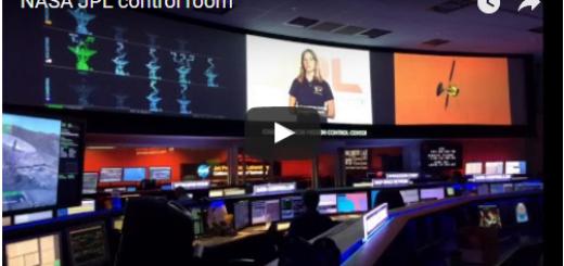 NASA JPL control room