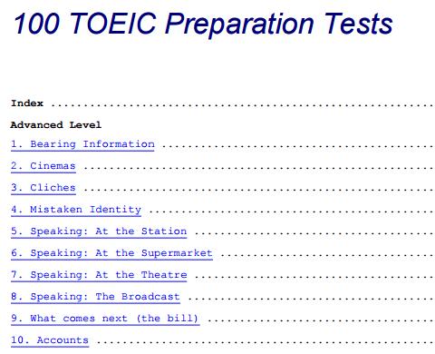 100 TOEIC Preparation Tests pdf - Web Education