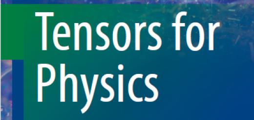 Book Tensors for Physics pdf