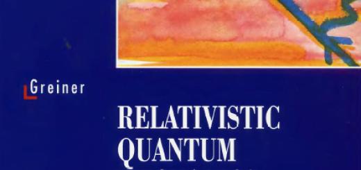 Relativistic quantum mechanics Wave equations by Greiner W pdf