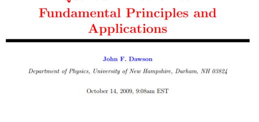 Quantum Mechanics Fundamental Principles and Applications pdf