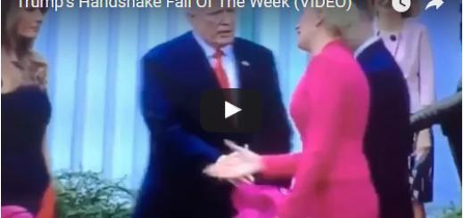 Trump's Handshake Fail Of The Week VIDEO