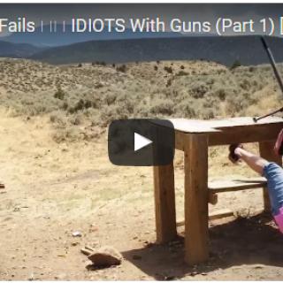 Funny Gun Fails VIDEO