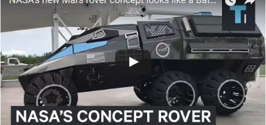 NASA's new Mars rover concept looks like a Batmobile