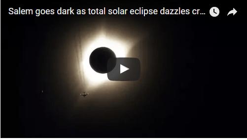 Salem goes dark as total solar eclipse dazzles crowds in Oregon