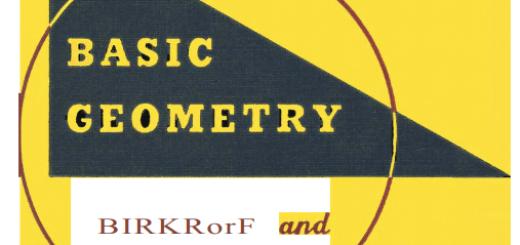 Basic Geometry pdf By George David Birkhoff Third Edition pdf