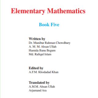 Book elementary mathematics pdf