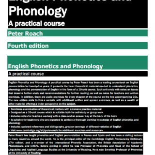 CAMBRIDGE English Phonetics and Phonology pdf