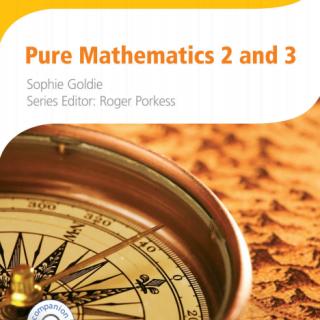 Pure Mathematics Cambridge International pdf