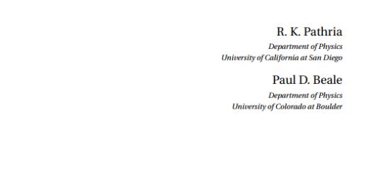 Statistical Mechanics Third Edition pdf