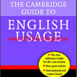The Cambridge Guide to English Usage pdf