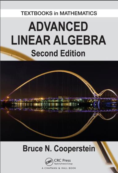 Advanced Linear Algebra Second Edition pdf - Web Education