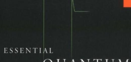 Book Essential Quantum Physics pdf