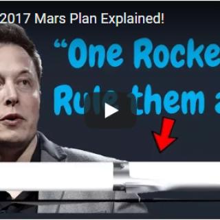 Elon's 2017 Mars Plan Explained
