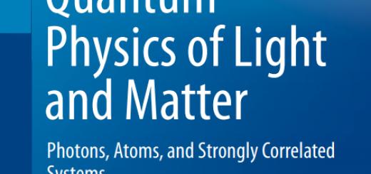Quantum Physics of Light and Matter pdf