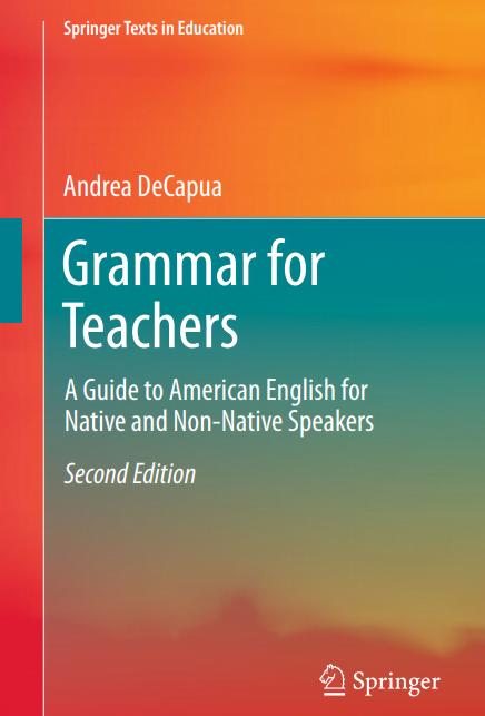 grammar book for teachers