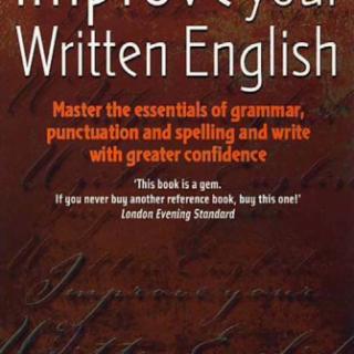Improve your Written English pdf