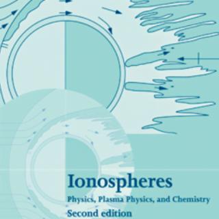 Ionospheres Physics Plasma Physics and Chemistry second edition pdf