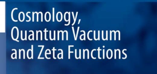 Cosmology Quantum Vacuum and Zeta Functions pdf
