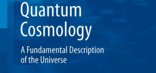 Quantum Cosmology A Fundamental Description of the Universe pdf