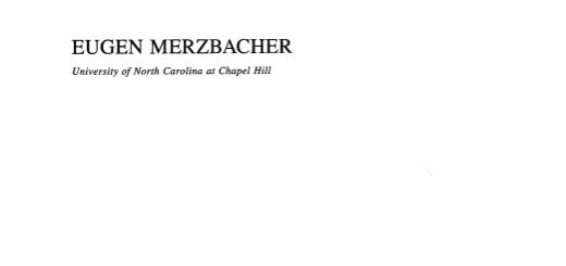 Quantum Mechanics 3ed by Eugen Merzbacher pdf