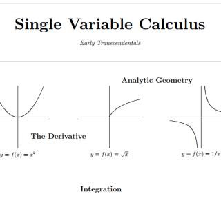 Single Variable Calculus pdf