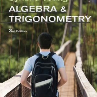 Algebra and Trigonometry 3rd Edition pdf