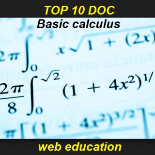 Basic calculus pdf