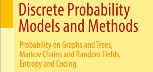 Discrete Probability Models and Methods pdf