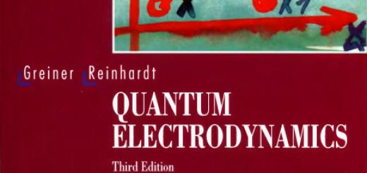 Quantum electrodynamics pdf