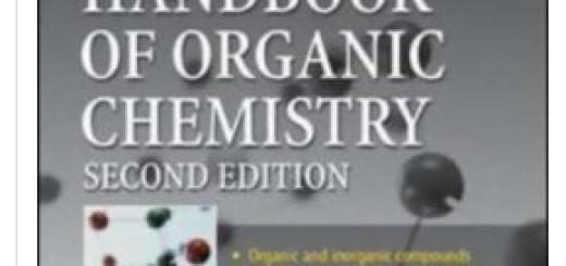 Dean's Handbook of Organic Chemistry pdf